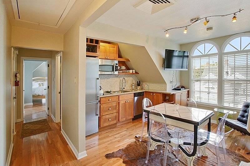 Kitchen with highend appliances
