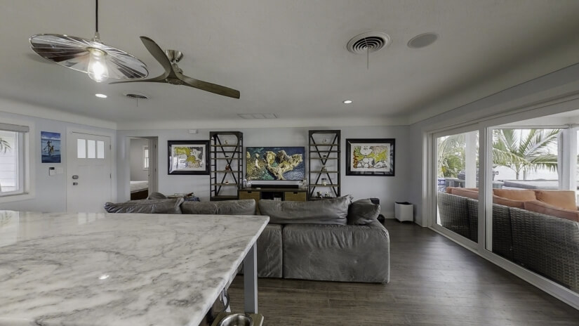 """65"""" 8k TV with Sonos Throughout the House"""