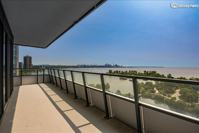 Set to rise on the shores of Lake Ontario-large terrace
