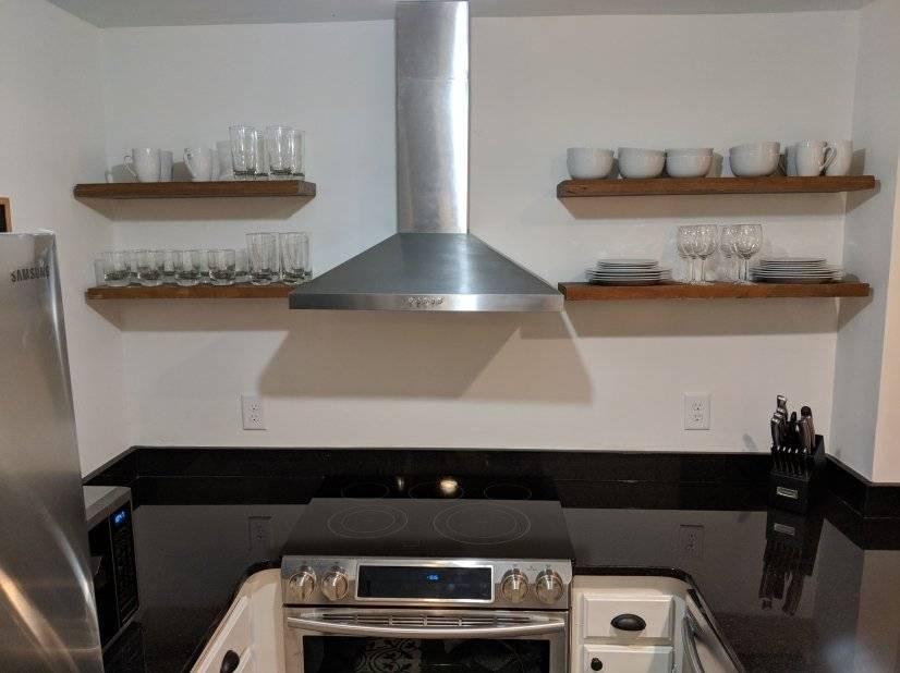 Brand new kitchen with Samsung appliances