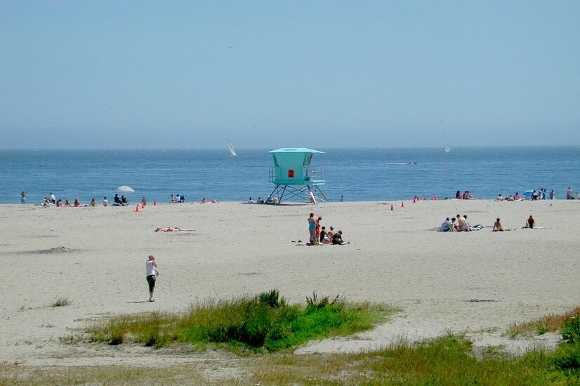 Seabright Beach - 2 min walk fro house