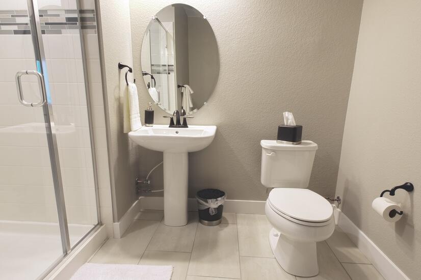 Flex Room Master Bathroom on Ground Floor