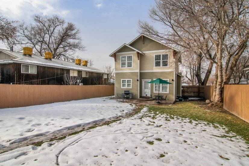 Fenced private backyard great for kids or a pet