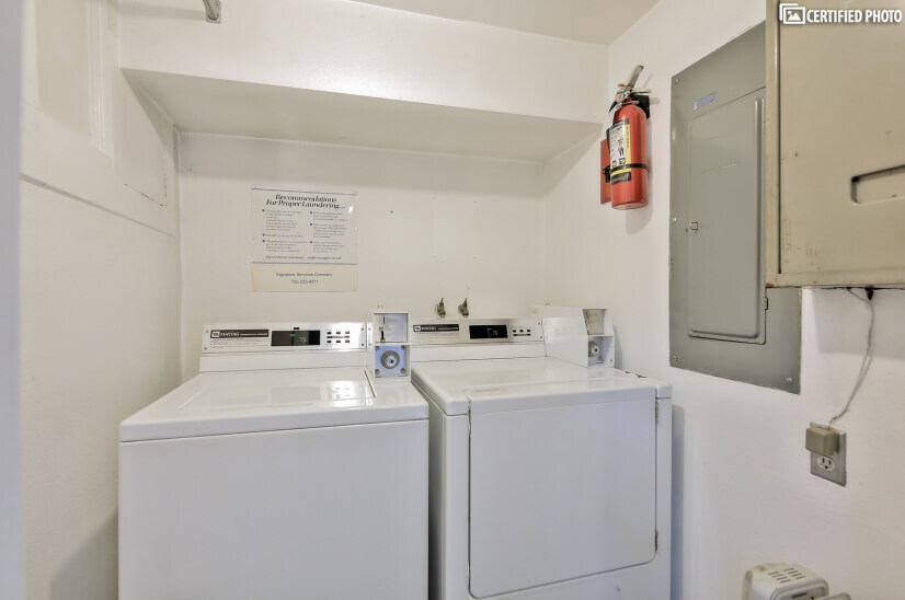 Shared Laundry Room