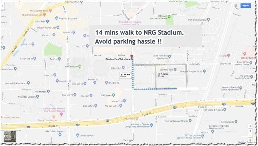 Walk to NGR