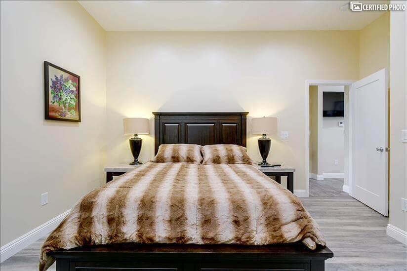Seally queen mattress in master bedroom 2