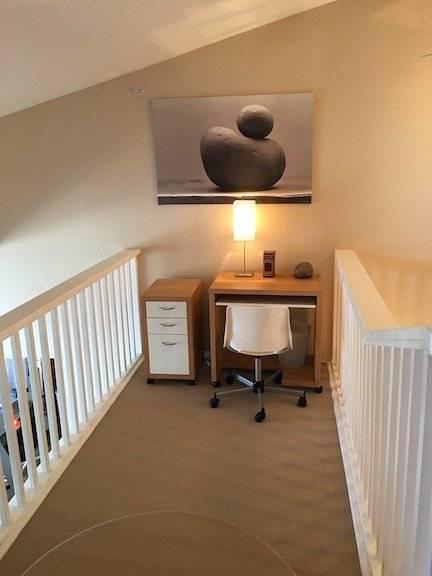 upstair office area