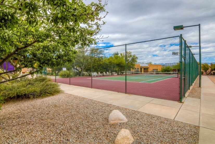 Tennis and pickleball courts