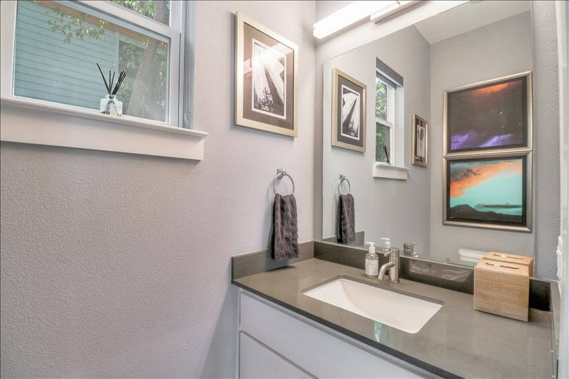 Half Bathroom on Main Level