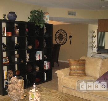 Living room near dining room