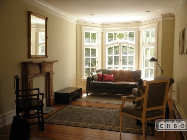 Living room - Fully furnished corporate rental San Francisco