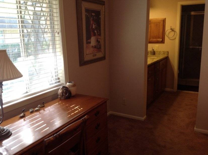 Master Bedroom Desk and Dressing Area