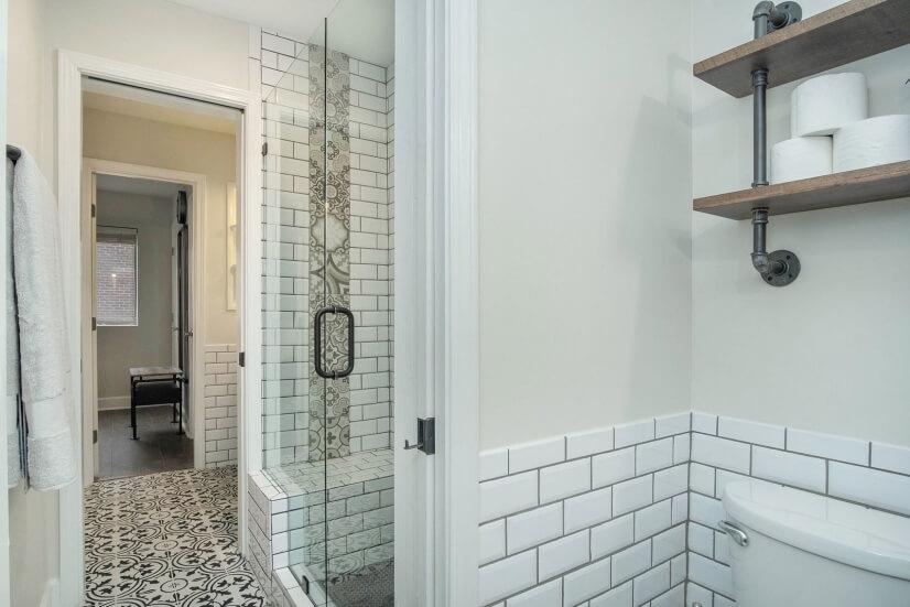 Jack & Jill Style Bathroom