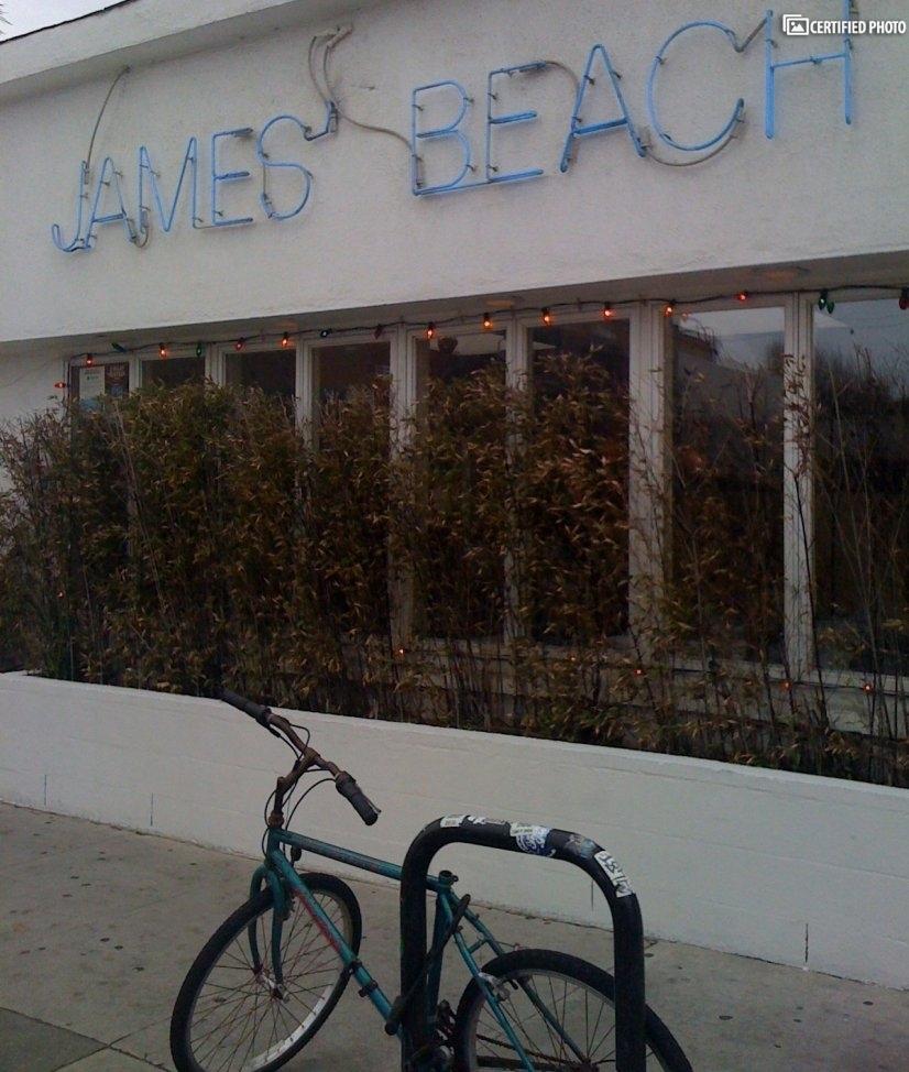 James Beach restaurant is a short walk on N. Venice Blvd
