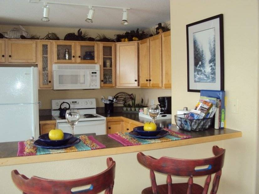 Kitchen and bar seating
