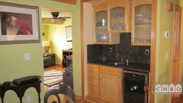 WET BAR IN DINING ROOM
