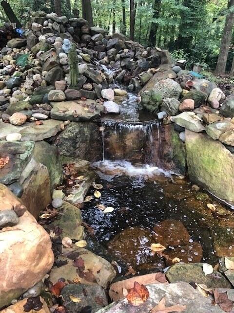 Backyard  7 foot Waterfall