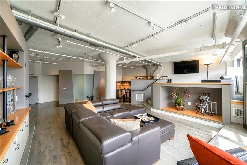 1635 sq ft loft Zoned for Both Residential & Commercial