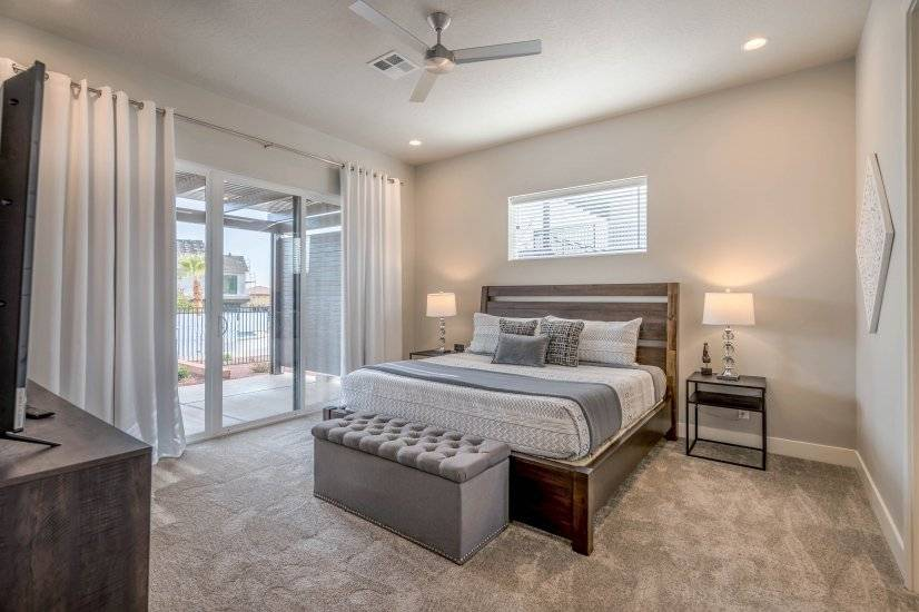 Master Suite with king bed and balcony