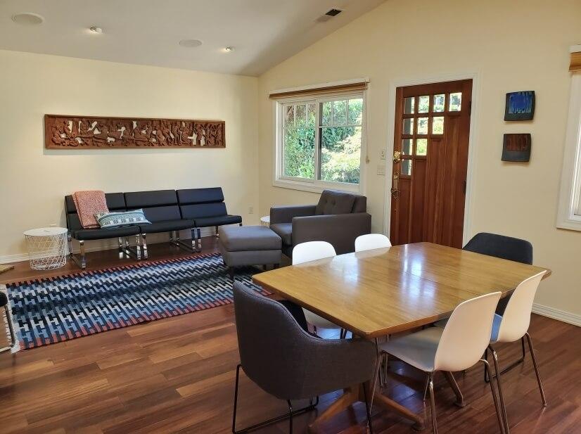 Bright open Living / Dining Room