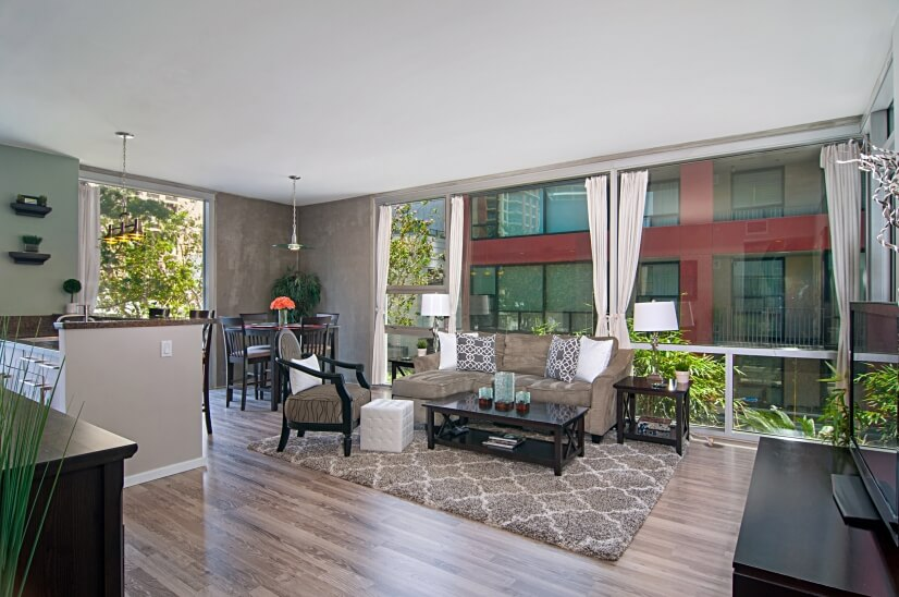 image 3 furnished 2 bedroom Townhouse for rent in Park West, Central San Diego