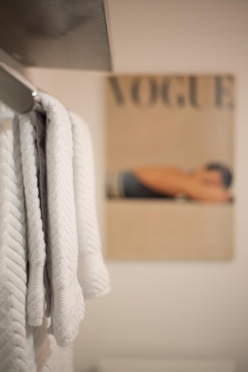Soft Turkish cotton towels.