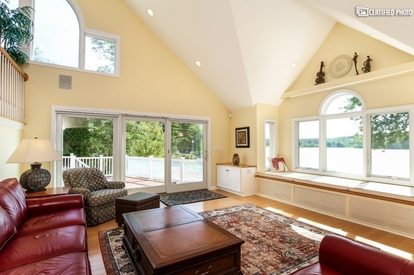 Great Room overview. Best lake view in the house.