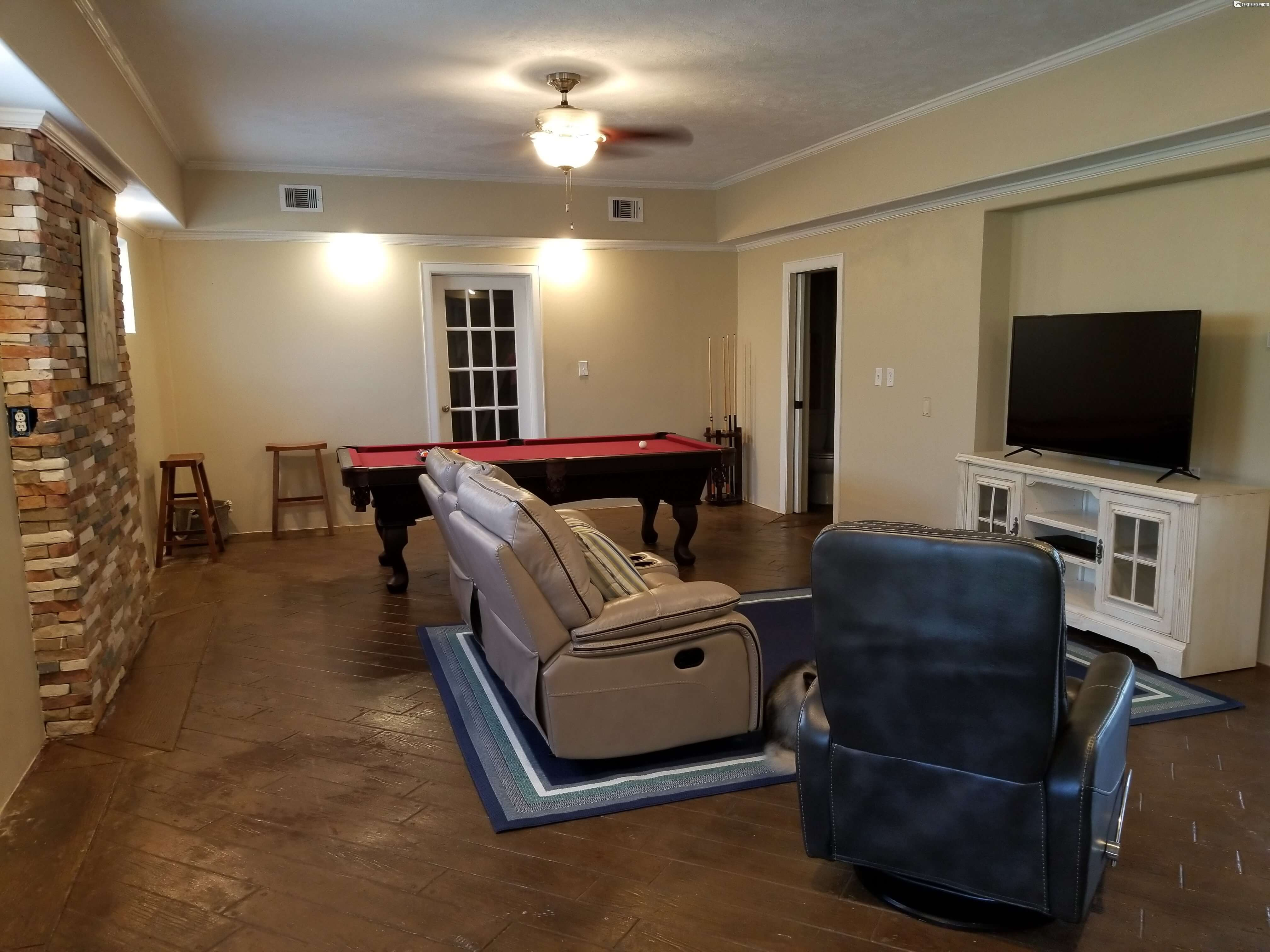 another angle of game room