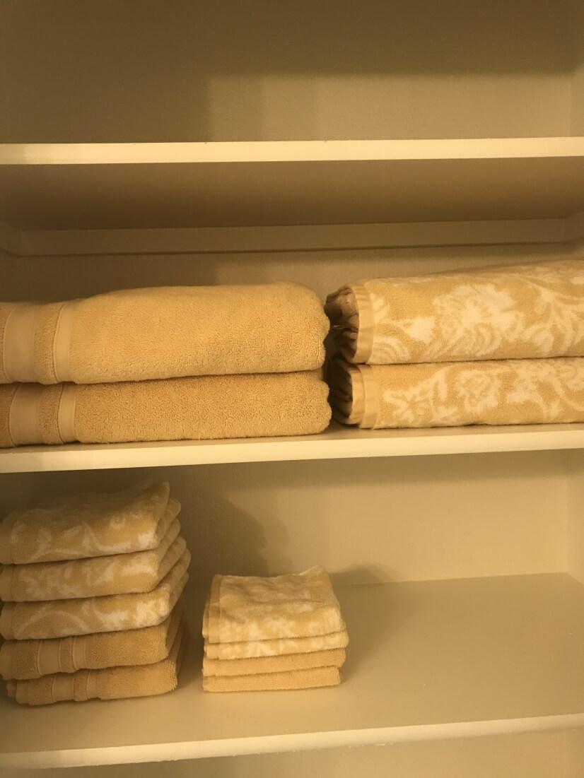 A second linen closet.