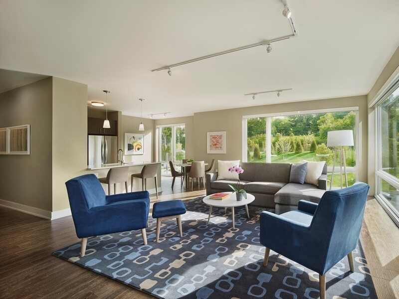 image 2 furnished 2 bedroom Apartment for rent in Florham Park, Morris County