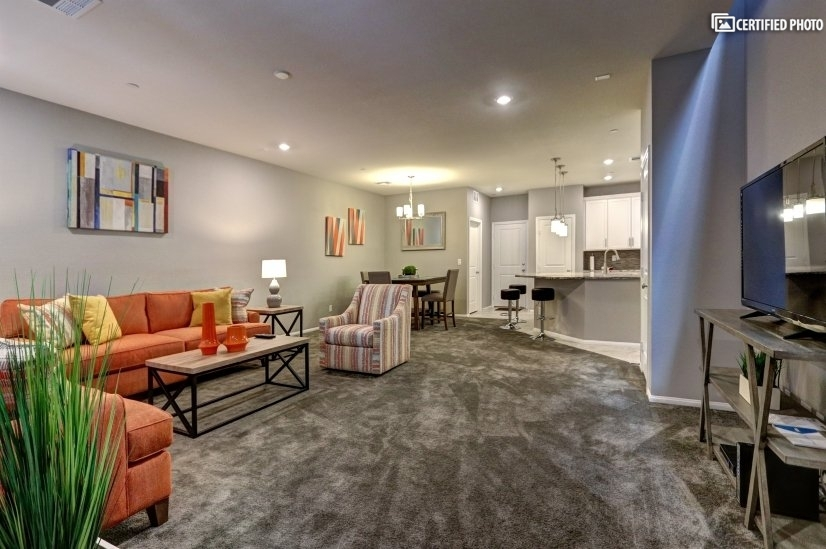 image 3 furnished 3 bedroom Townhouse for rent in Henderson, Las Vegas Area
