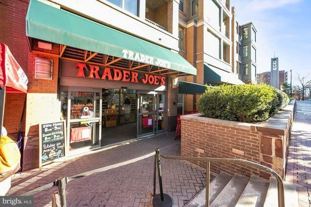 How conveeeenient...Trader Joe's  right across the street