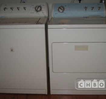 Full size washer & dryer in the condo unit