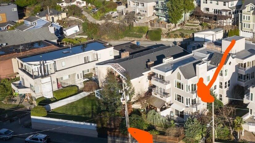 Lower level yard/patio+upper deck