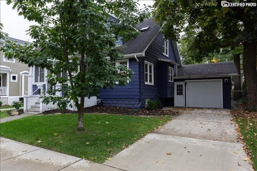 Attached garage, rare in this area and great