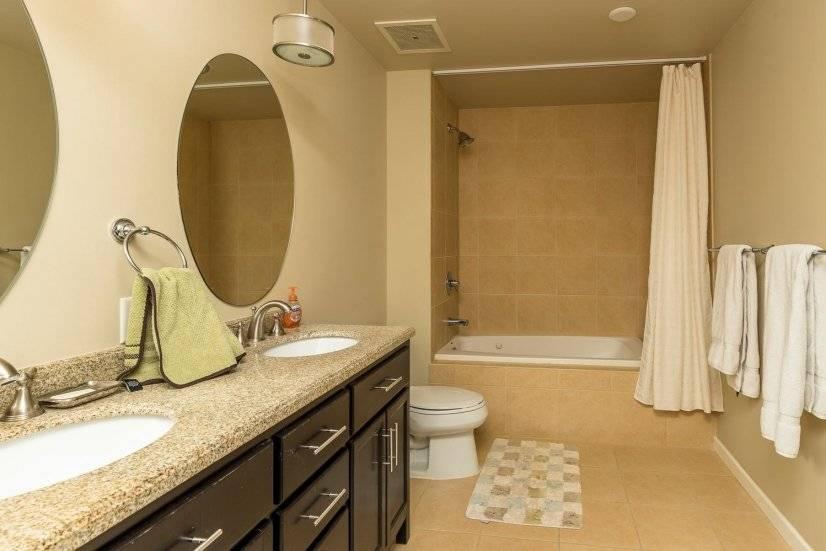 Second master bedroom bathroom