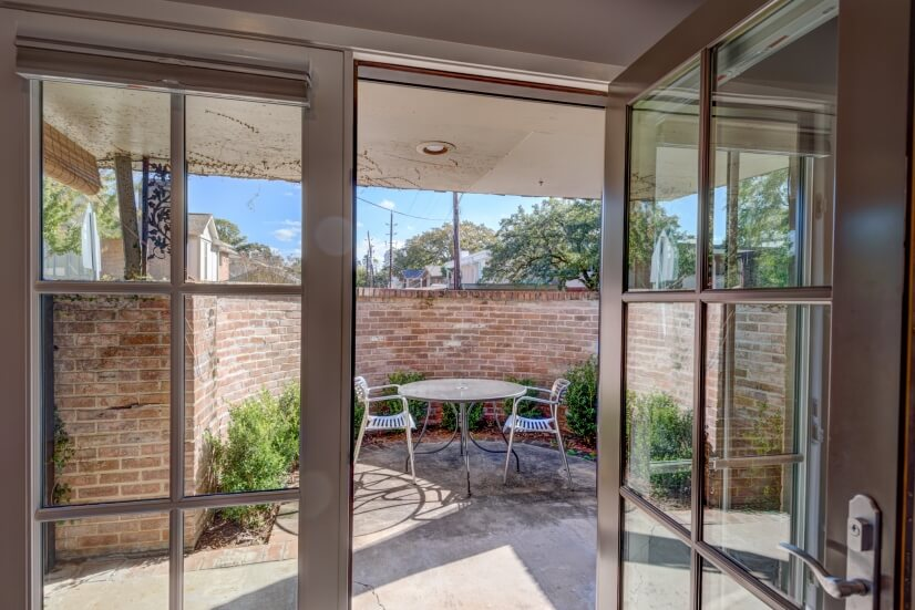 Private Front Patio