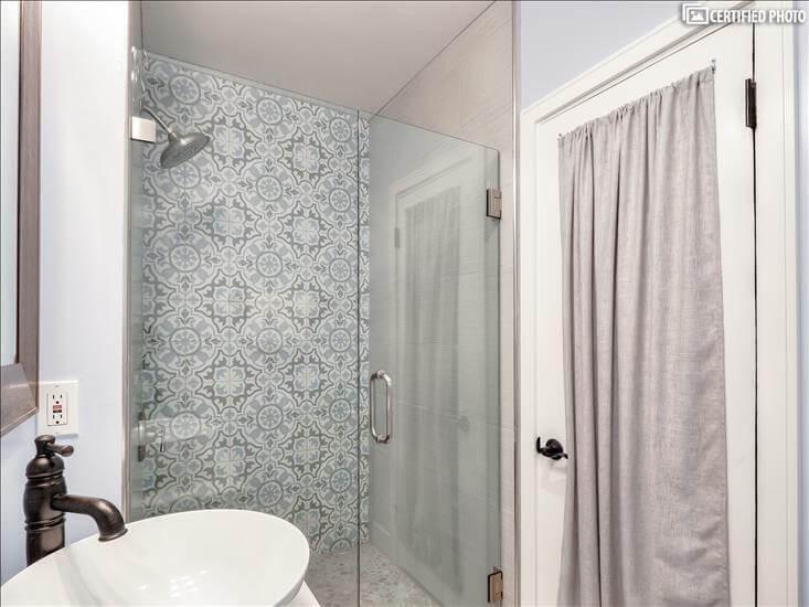 Master Bath 3 - large walk in shower