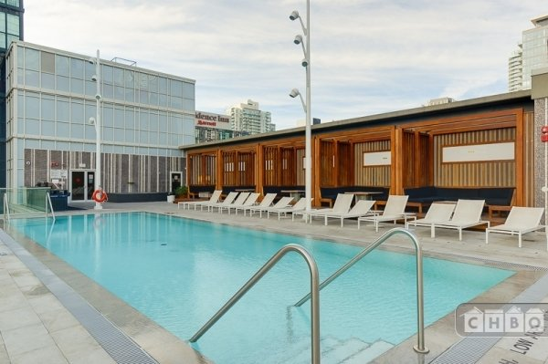 Rooftop Pool and Cabanas