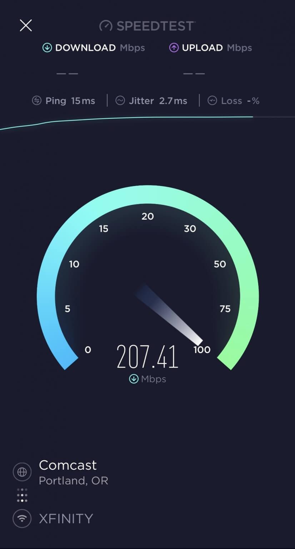 Super fast WiFi.