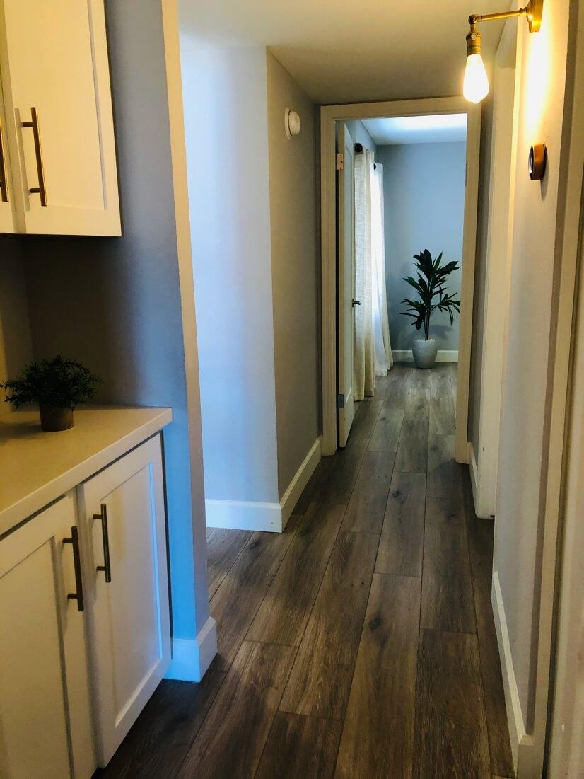 Spacious Wood Flooring throughout