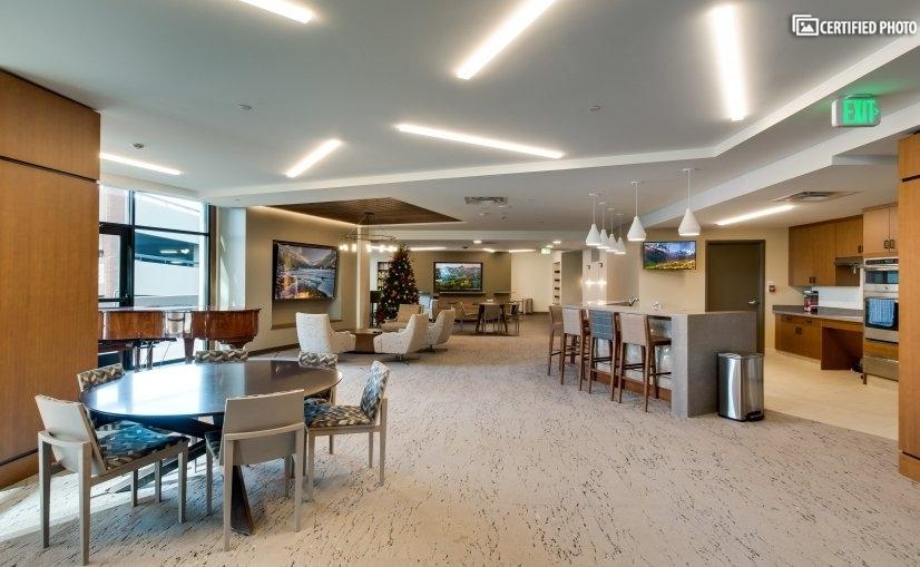 Common lounge area
