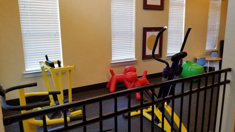 You can watch the kiddos while you also get your work out in
