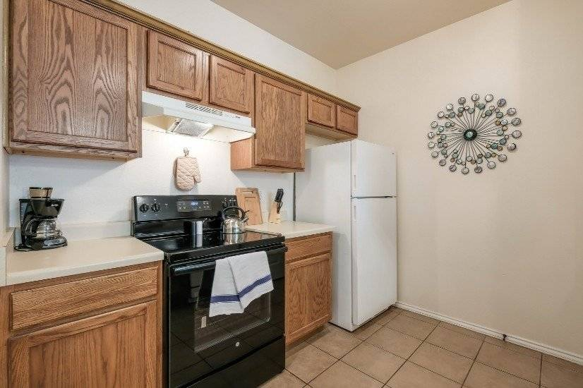 All Appliances and Microwave.  Basic Kitchen Set Up.