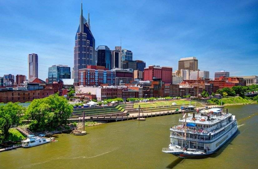 Downtown Nashville on the Cumberland - minutes away!