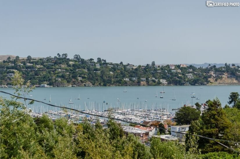 Sausalito Furnished home with Harbor views