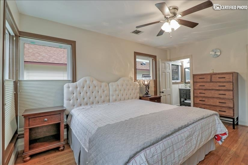 Bed Room #1 - has two XL twin beds, full bath & cedar closet
