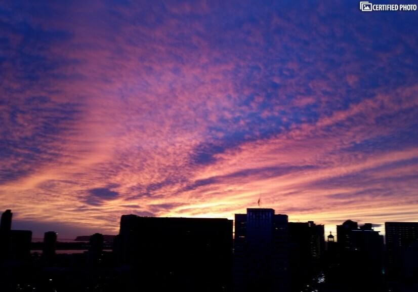 Sunset-Condo Deck