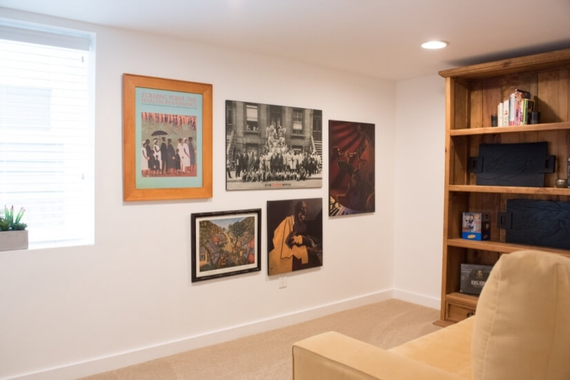 2nd bedroom is perfect for an office or reading room.