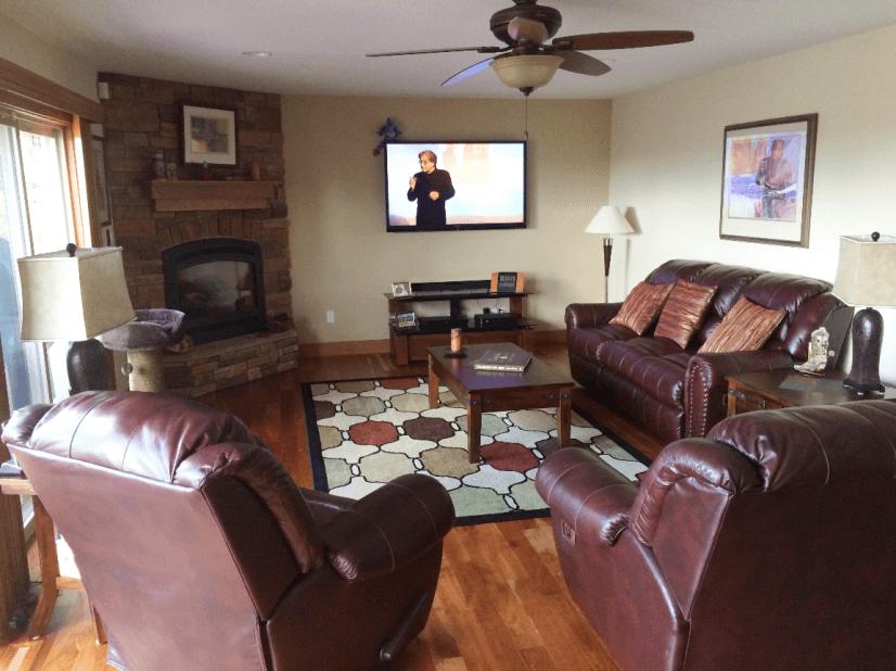 Media Room Main Level